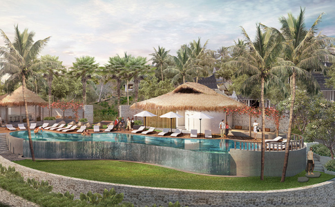 Nusa Penida Beach Resort, Bali, Indonesia